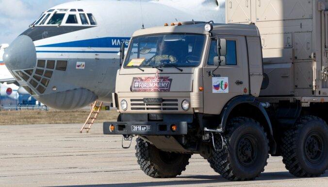 Российские военные специалисты в пятницу начнут покидать Италию