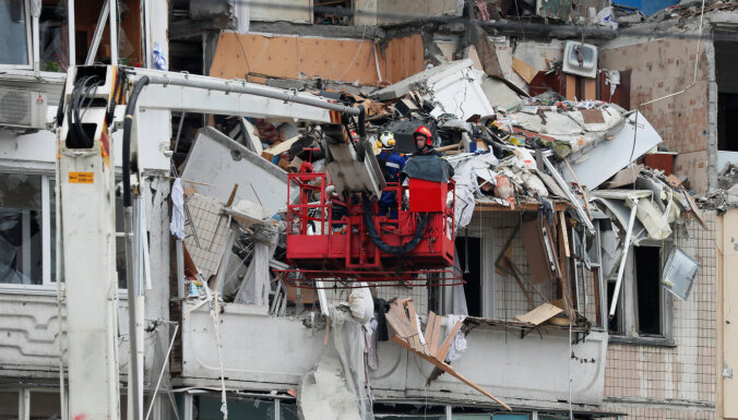 В жилом доме в Киеве произошел взрыв, есть жертвы