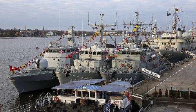 Латвийский морской флот отмечает столетие