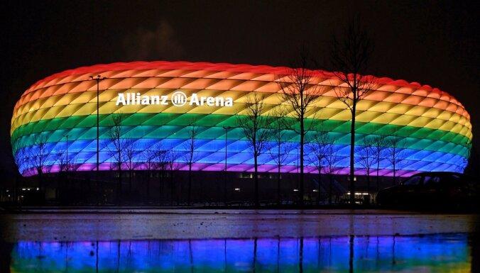 УЕФА запретил радужную подсветку арены в Мюнхене на матче Германия — Венгрия
