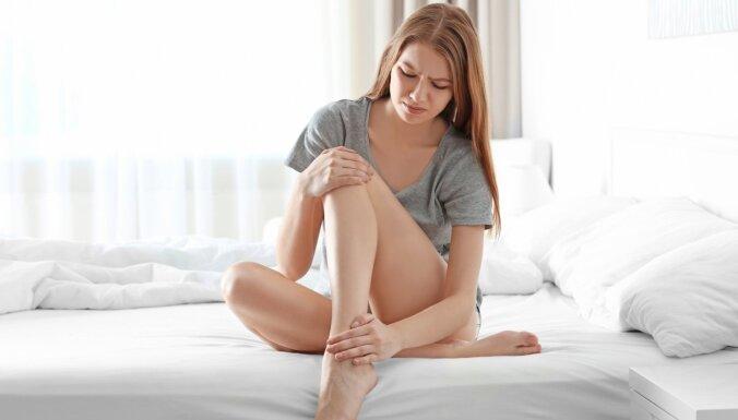 Smeldz kājas un moka krampji – kāpēc?