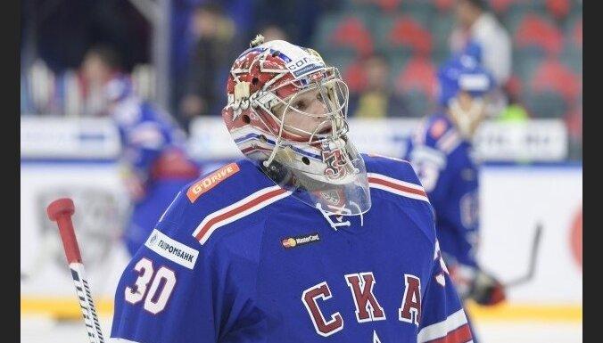 SKA hokejisti Znaroka un Vītoliņa prombūtnes laikā zaudē CSKA