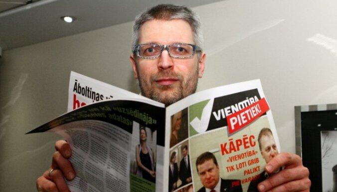 'Vienotību' kritizējošā avīze izmaksājusi 30 000 latu; Lapsa naudas avotus neatklāj