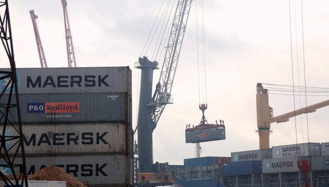 Rīgas ostā pērn pārkrauts par 8,2% vairāk kravu