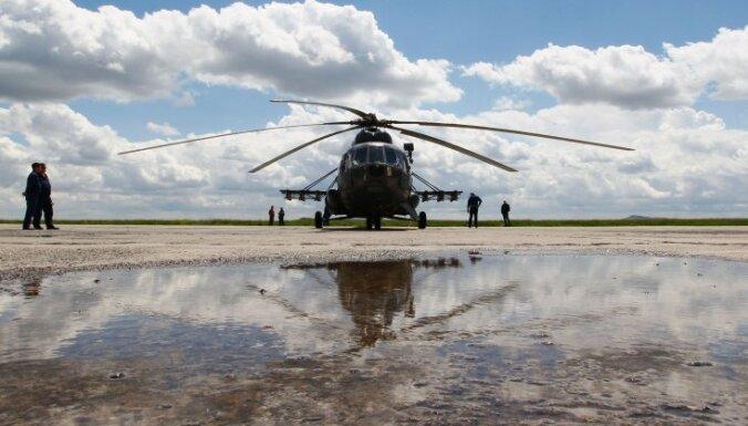 В России во второй раз за 8 дней разбился военный вертолет