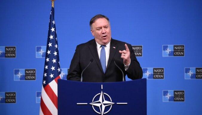 Pompeo: pēc 60 dienām ASV aizies no kodollīguma ar Krieviju