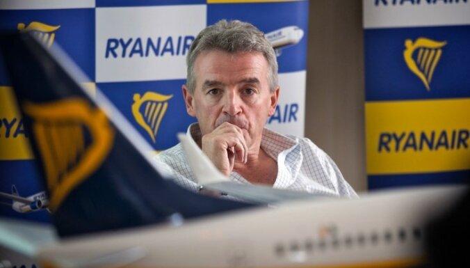Шеф Ryanair: рейсы в Риге сокращены из-за налоговой политики