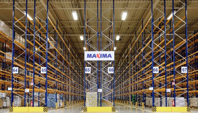 Выручка группы Maxima уже превысила два миллиарда евро
