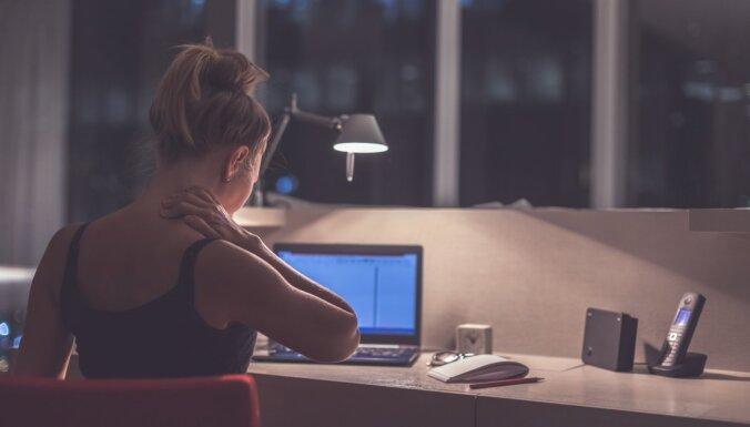 Stresa radīts saspringums kaklā un plecos: ieteikumi spriedzes mazināšanai