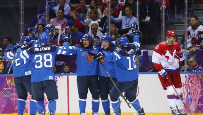 Krievija, Somija, olimpiskās spēles, Soči