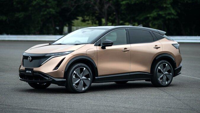 'Nissan' pirmais sērijveida elektriskais apvidnieks ar 500 km sniedzamību
