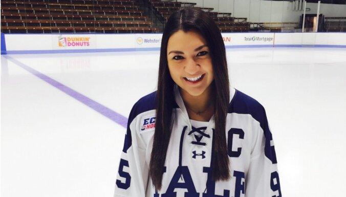 Девушки тоже играют в хоккей: путь Кристы из Канады в Латвию