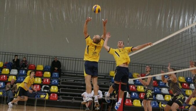 Большой волейбол добрался до Даугавпилса