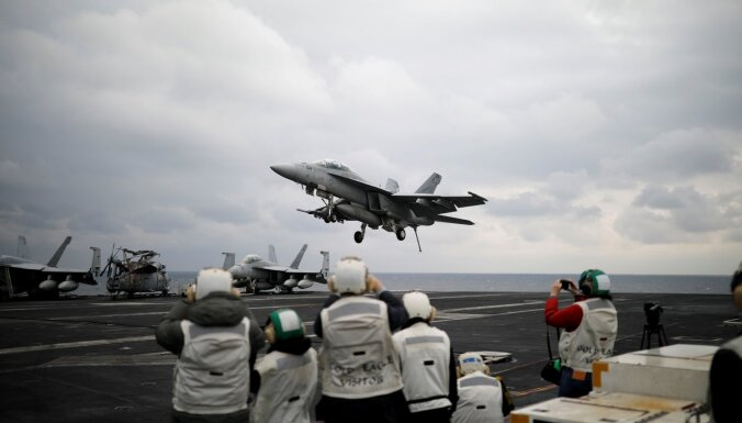 ASV plāno pārdot Taivānai iznīcinātājus 'F-16'