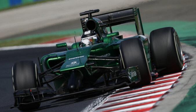 'Caterham' F-1 komanda naudu startam Abu Dabi 'Grand Prix' lūdz no faniem