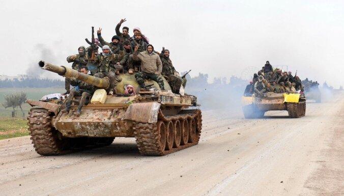 ES gatava apsvērt jaunu sankciju piemērošanu Sīrijas režīmam, norāda Borreljs