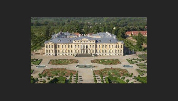 Государство не финансировало реставрацию Рундальского дворца с 1992 года (ФОТО)