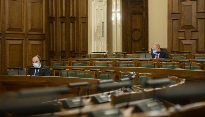 Saeimas Ārlietu komisija aicina pārtraukt bruņotos konfliktus Izraēlā