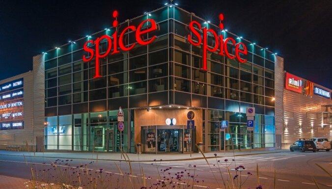 Tirdzniecības centra 'Spice' apgrozījums pērn pieaudzis līdz 177 miljoniem eiro