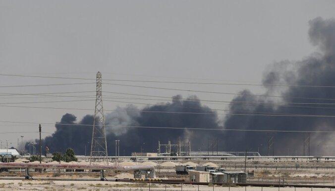 Jemenas hutiešu nemiernieki uzņēmušies atbildību par dronu uzbrukumiem naftas objektiem