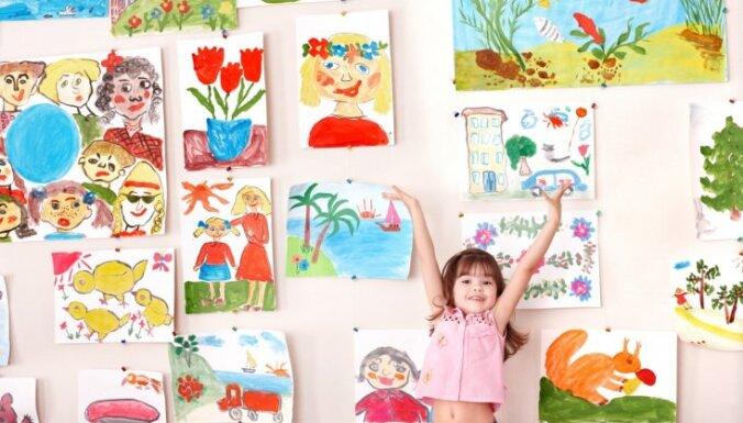 Idejas, ko iesākt ar mazo mākslinieku garadarbiem
