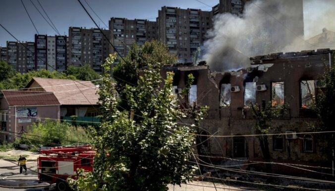 Армия Украины после боя оставила аэропорт Луганска