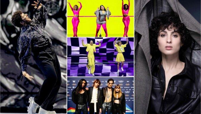 Noklausies! Piecas dziesmas, kuras var uzvarēt šā gada 'Eirovīzijā'