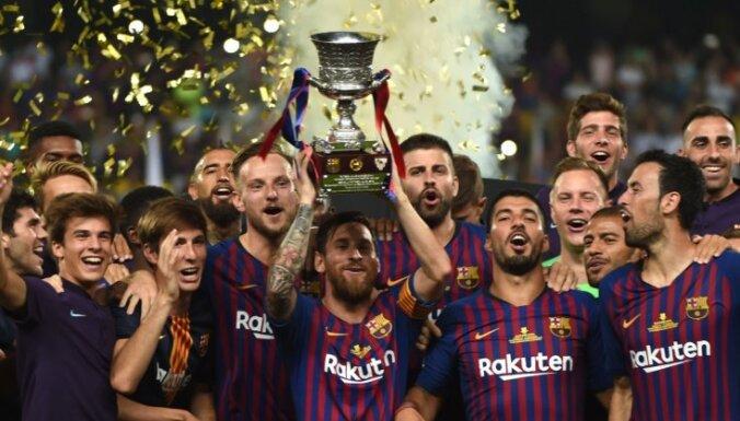 'FC Barcelona' 13. reizi izcīna Spānijas Superkausu