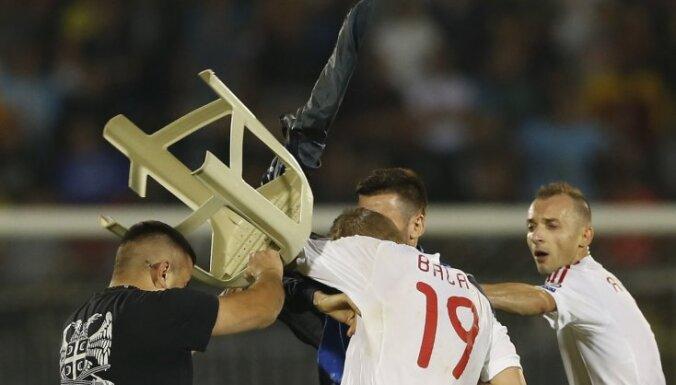 Беспорядки в Белграде: УЕФА засчитал Албании поражение, но и Сербии очков не досталось