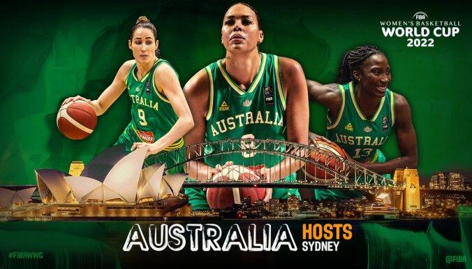 2022. gada Pasaules kauss basketbolā sievietēm notiks Sidnejā