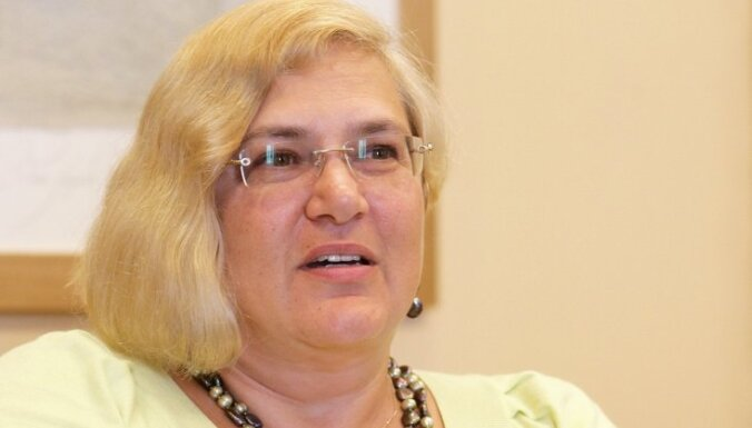 VSAA deleģētā pārstāve LK padomē Pētersone noraida uzņēmuma pārmetumus