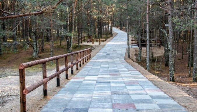 ФОТО. В Царникаве открывается самый длинный в Латвии променад к морю