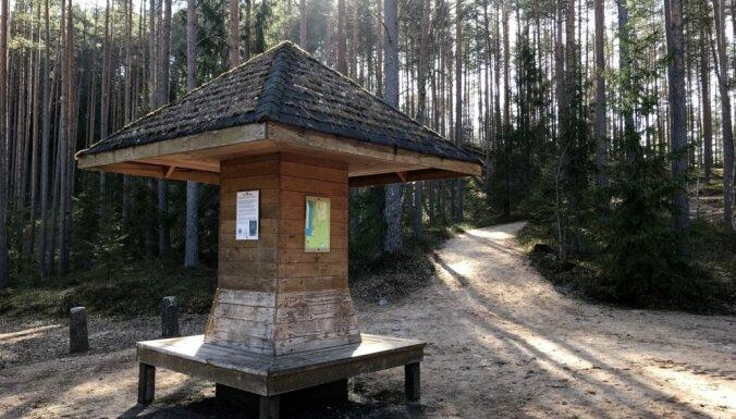 Foto: Sietiņiezis – varenākais balto smilšakmeņu atsegums visā Baltijā