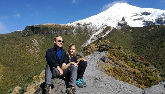 Izrauties no rutīnas un doties padzīvot uz Jaunzēlandi: ceļotāju Elisas un Alda stāsts