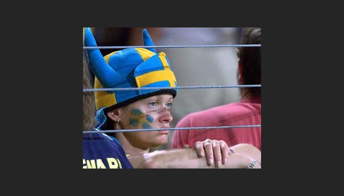 Сборная Швеции едет домой