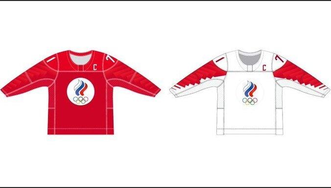 PČ hokejā: Rīgā spēlēs Krievijas Olimpiskās komitejas hokeja komanda