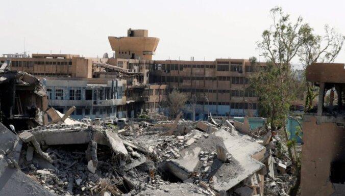 Kurdu un arābu alianse sāk pēdējo kauju Rakas atbrīvošanai