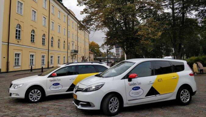 """В Риге сервис Yandex.Taxi запустил услугу """"Доставка"""""""