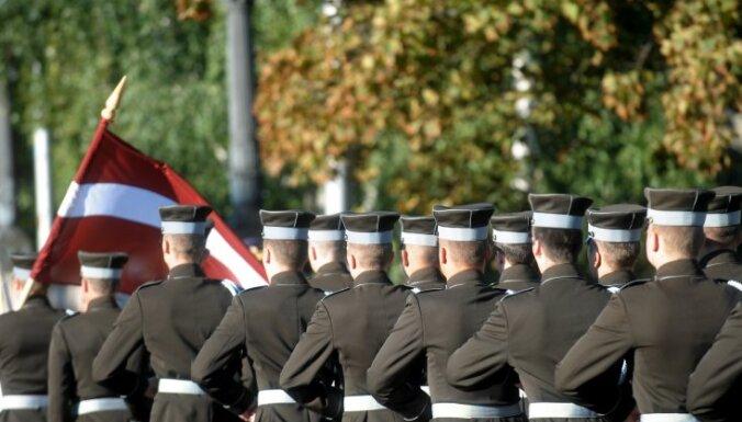 NBS Štāba bataljona simtgadē karavīriem vēl augstu operacionālo gatavību un nemitīgu attīstību