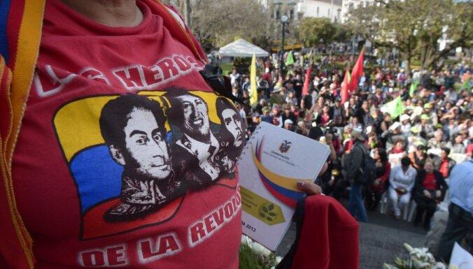 Venecuēlas opozīcijas līderis piekrīt kandidēt prezidenta vēlēšanās