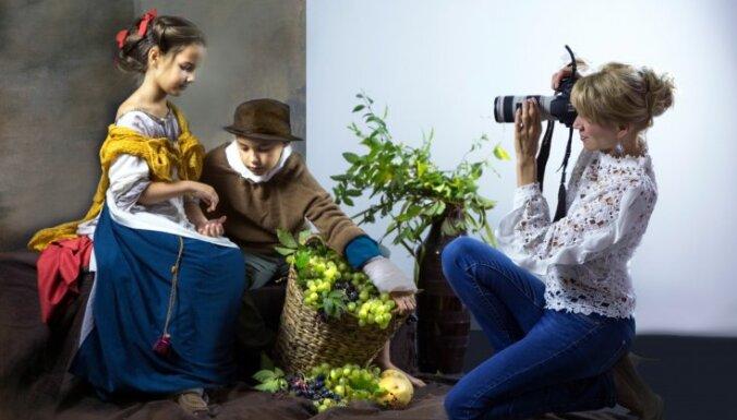 Где живет латвийская Мона Лиза: фотограф из Иецавы вдохнула новую жизнь в 15 всемирно известных картин