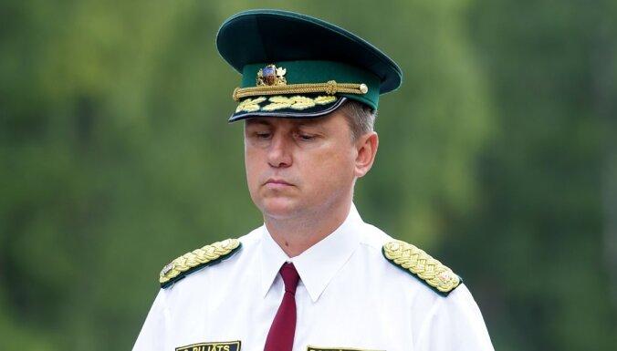 Iekšējās drošības birojs aizturējis Valsts robežsardzes priekšnieku Pujātu