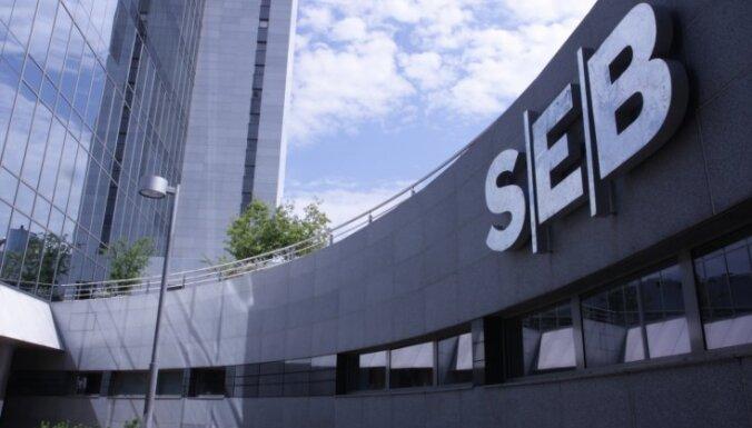 Филиалы SEB banka в десяти латвийских городах завтра работают последний день