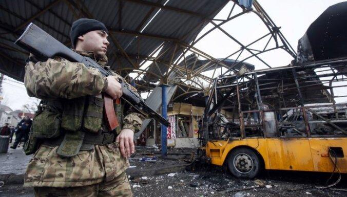 'Delfi' Ukrainā: Četras diennaktis 20 grādu salā vienam pašam ar nosalušajiem biedriem