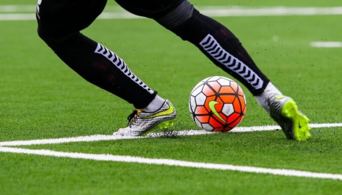 Vairāki Latvijas futbola klubi jau aizvadījuši pirmos treniņus