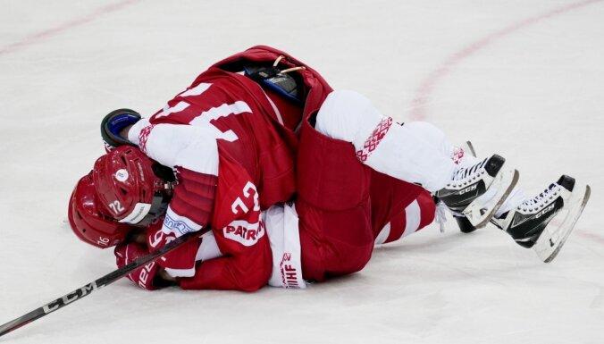 KOK hokejisti atstāj Baltkrieviju pēdējā vietā grupā