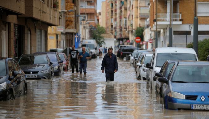 ВИспании случилось самое сильное наводнение запоследние 100 лет