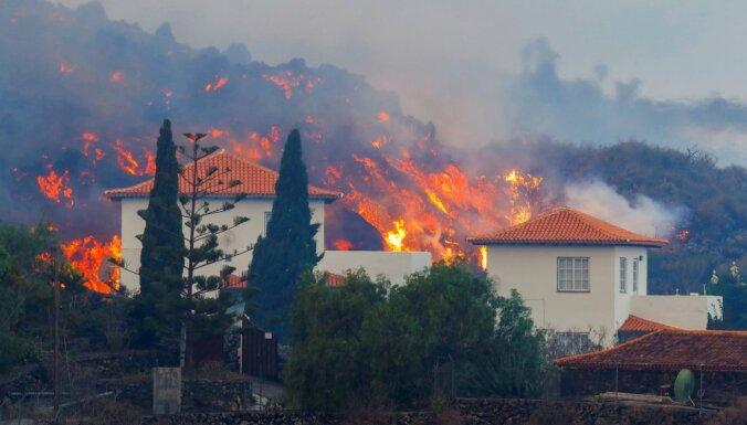 Вулкан на Канарах уничтожил 320 домов