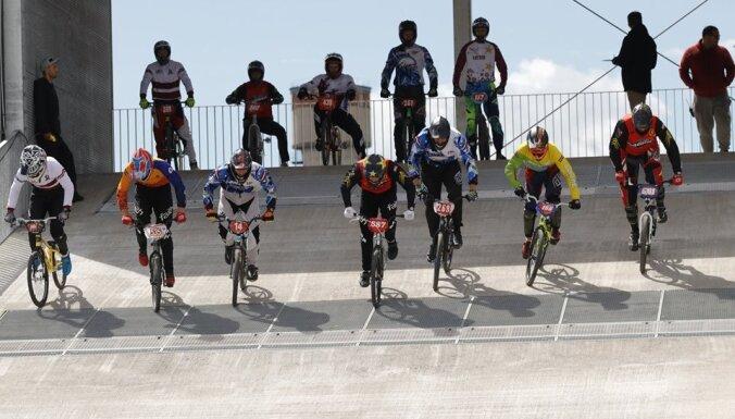 Valmierā sākas Eiropas BMX čempionāta sacensības