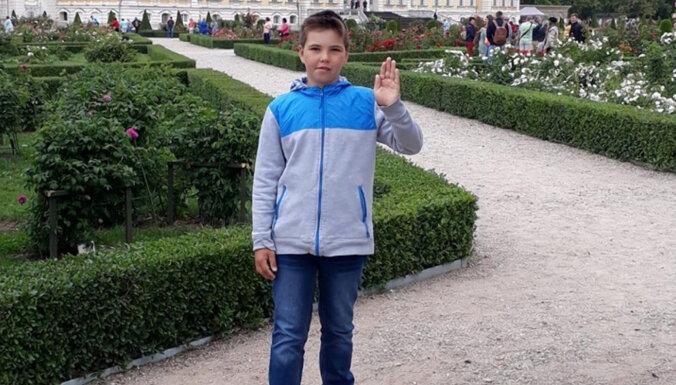 Полиция нашла 11-летнего Риналда